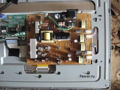 Схема инвертора монитора lcd